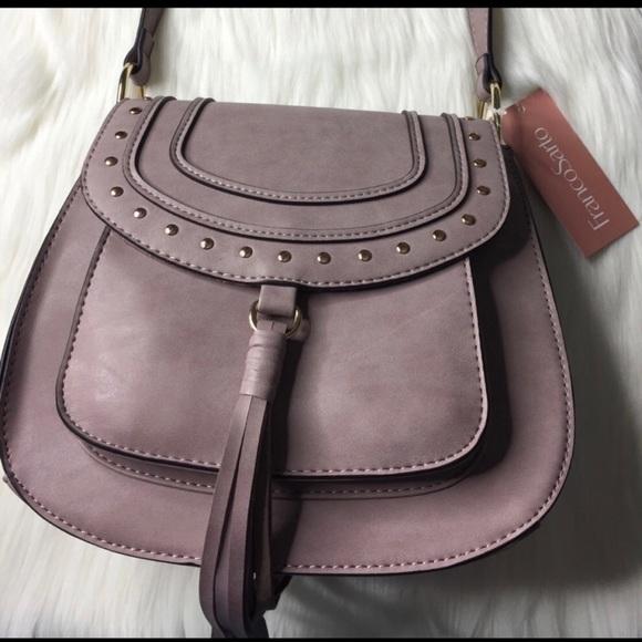 d2aad99785 Franco Sarto Bags | Stylish Lilac Crossbody Purse | Poshmark